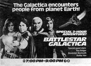 Greetings from earth battlestar wiki tv guide ad for greetings from earth m4hsunfo