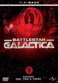 Battlestar Galactica - Seasons One, Two & Three Cover Art